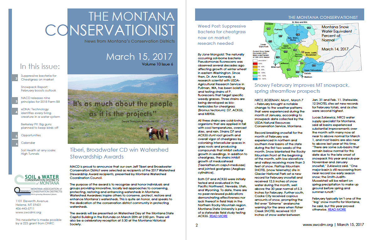The Montana Conservationist March 15