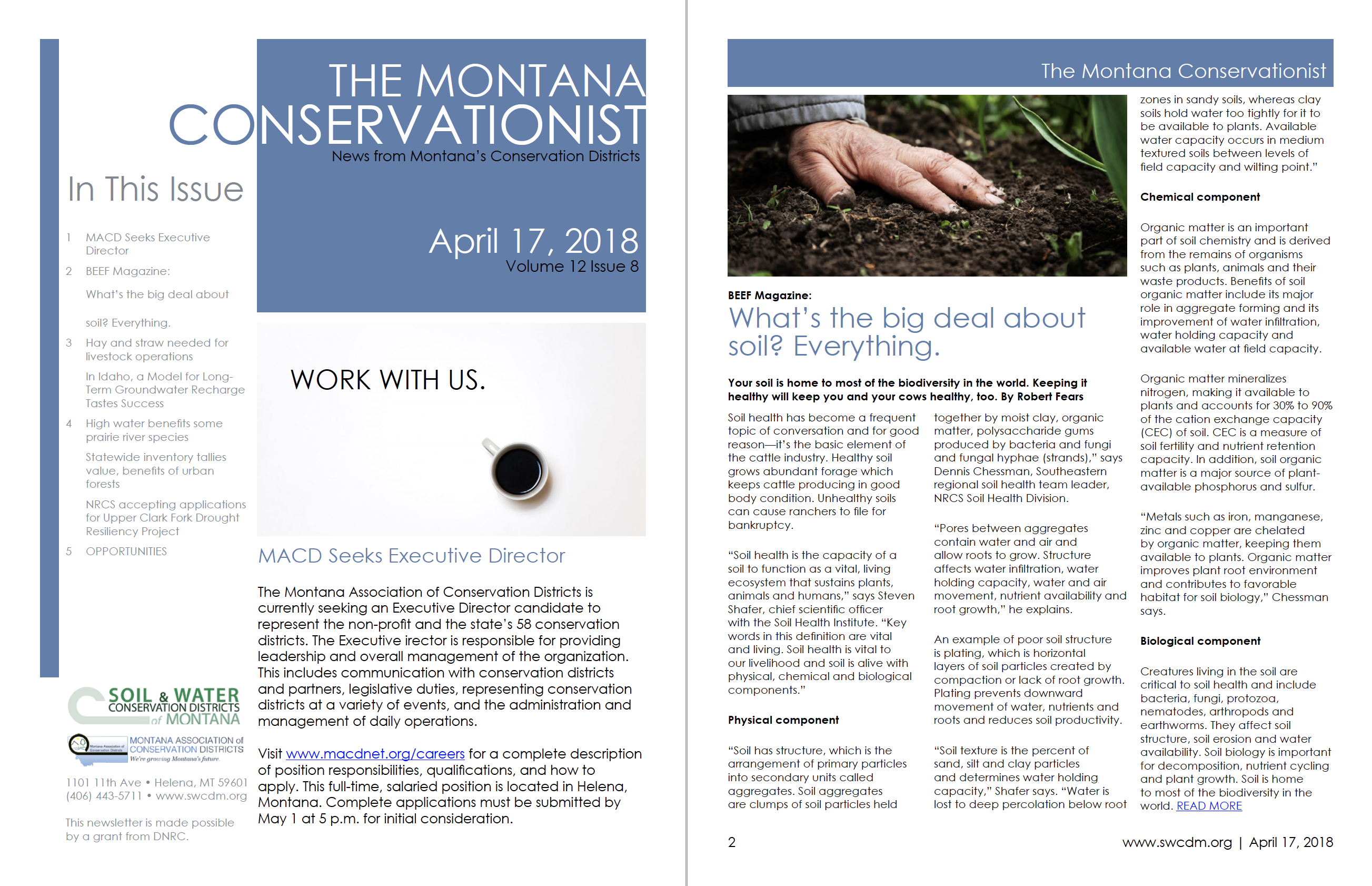 The Montana Conservationist April 17