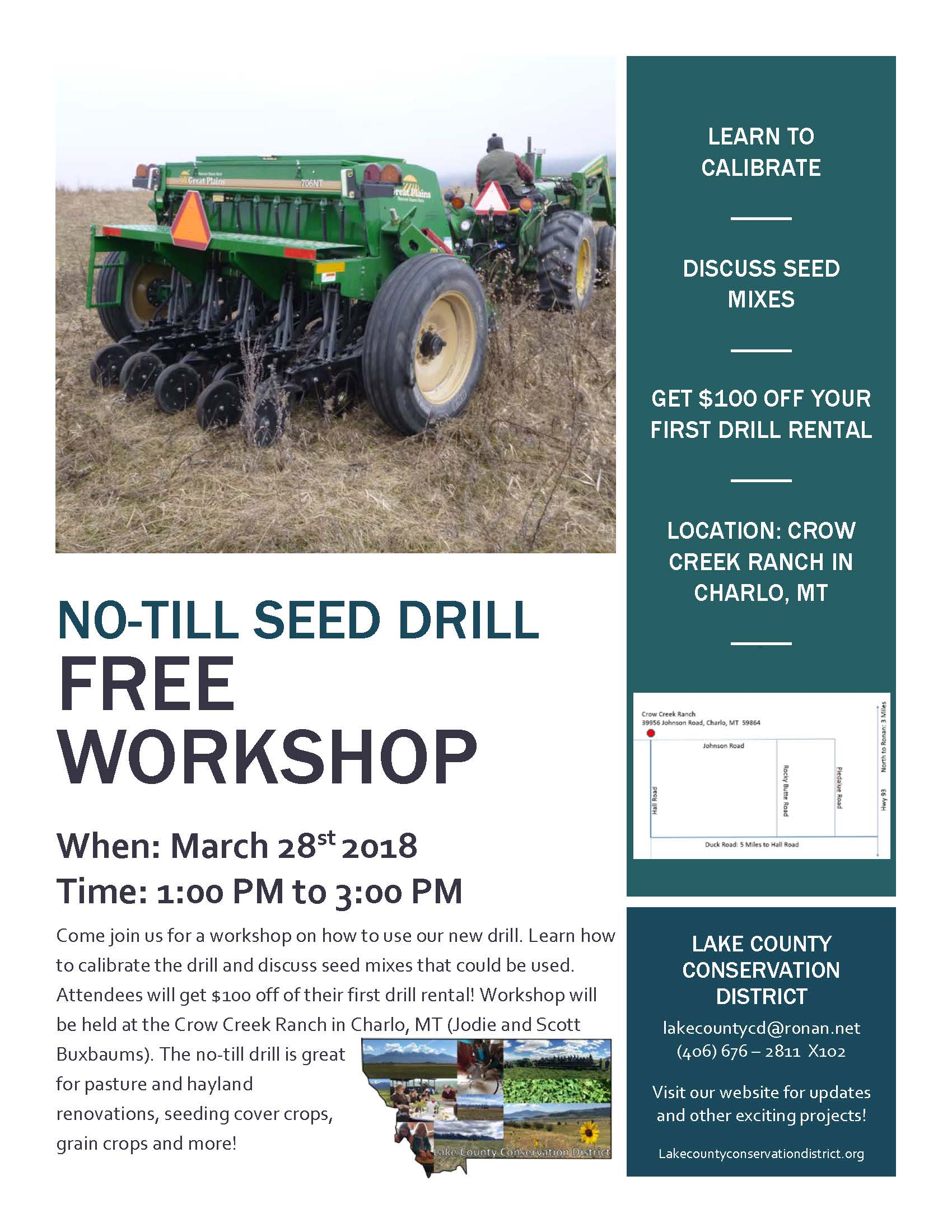 No-Till Drill Workshop