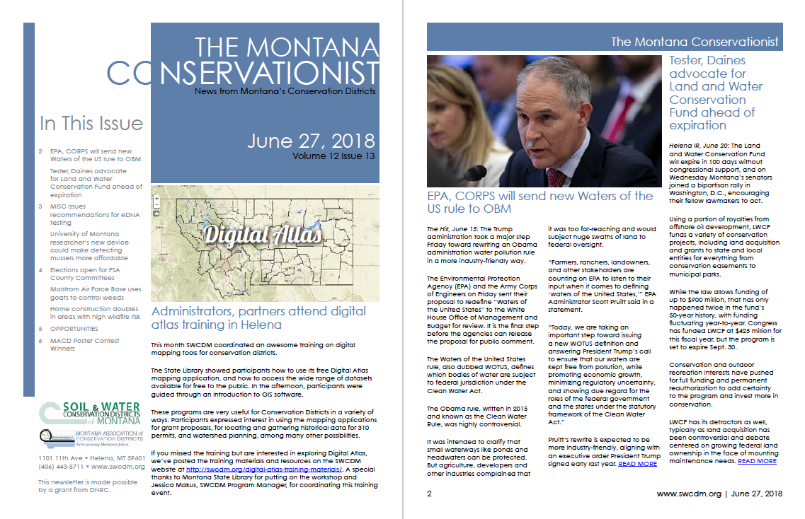 The Montana Conservationist June 27
