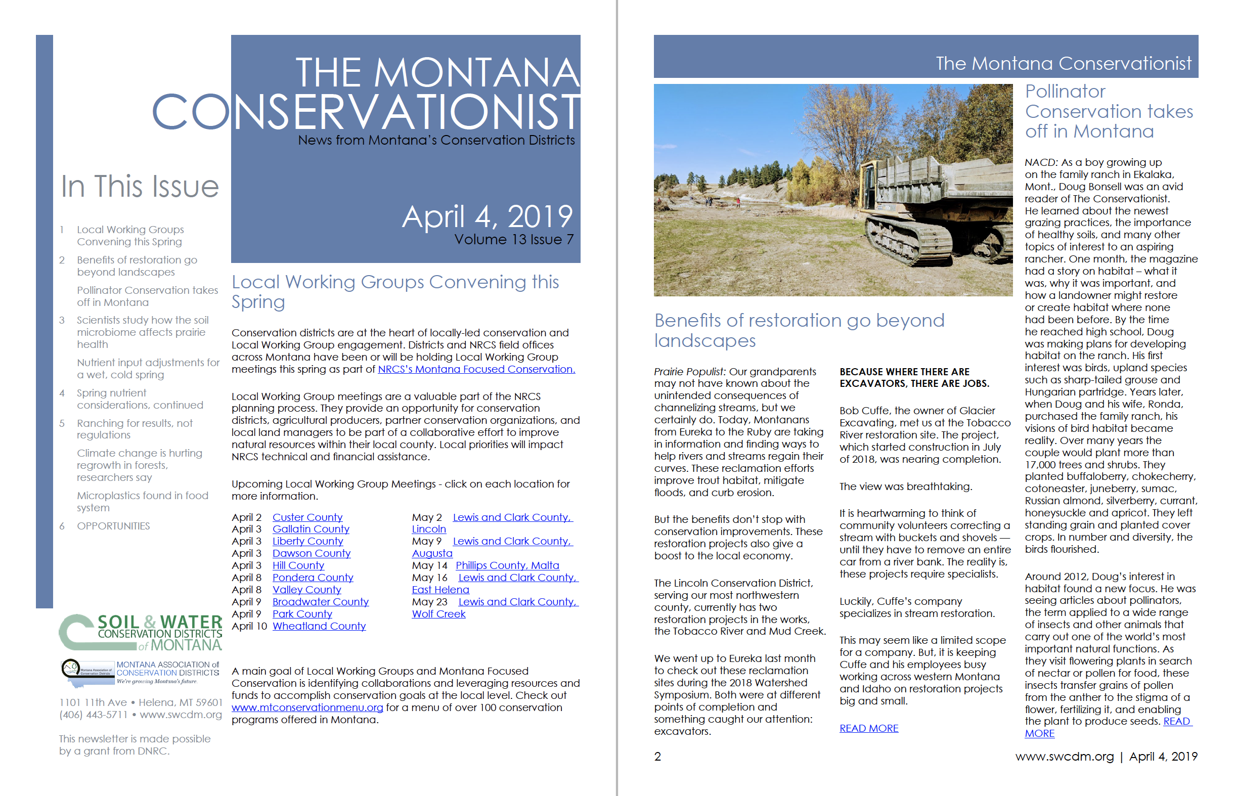 The Montana Conservationist April 4