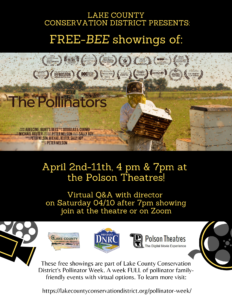 "FREE-BEE FILM: ""The Pollinators"" @ Polson Theatre"