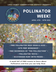 LCCD's Pollinator Week!